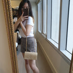 Load image into Gallery viewer, Chanel Vintage Beige WOC with Logo