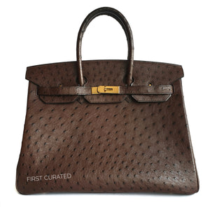 Hermes Ostrich Birkin - Price Available Upon Request