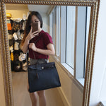 Load image into Gallery viewer, Hermès Herbag Black