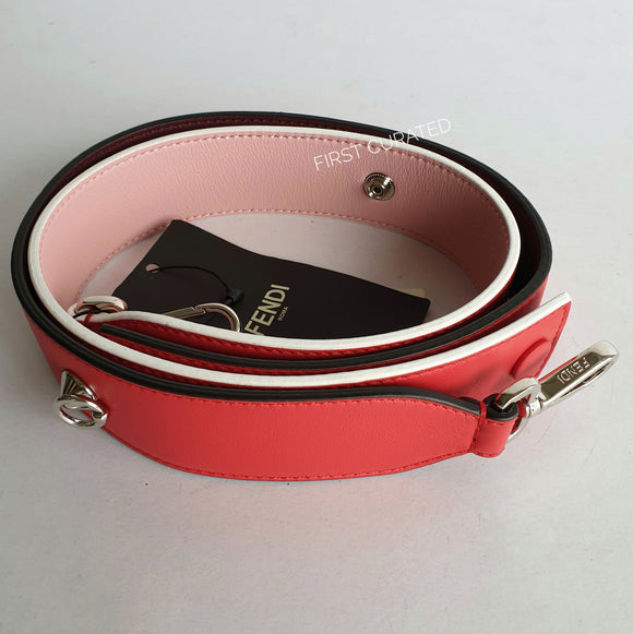 Fendi Strap You, Pink and Red