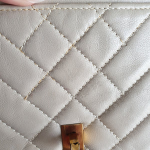 Chanel Chevron Clutch