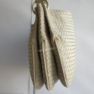 Bottega Veneta White Hobo