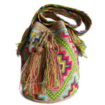 Load image into Gallery viewer, Waayu Bucket Sling Bag with Bright Accent Colors