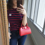 Load image into Gallery viewer, Manu Atelier Red Handbag