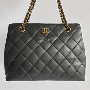 Chanel Black Tote with GHW, 5 series