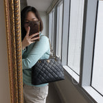 Load image into Gallery viewer, Chanel Black Tote with GHW, 5 series