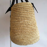 Load image into Gallery viewer, Sensi Studio Woven Handbag with Black Handles
