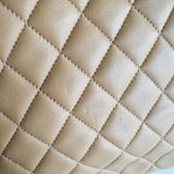 Chanel Quilted Lambskin Shoulder Tote
