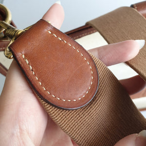 Hermès Evelyne, Leather and Canvas