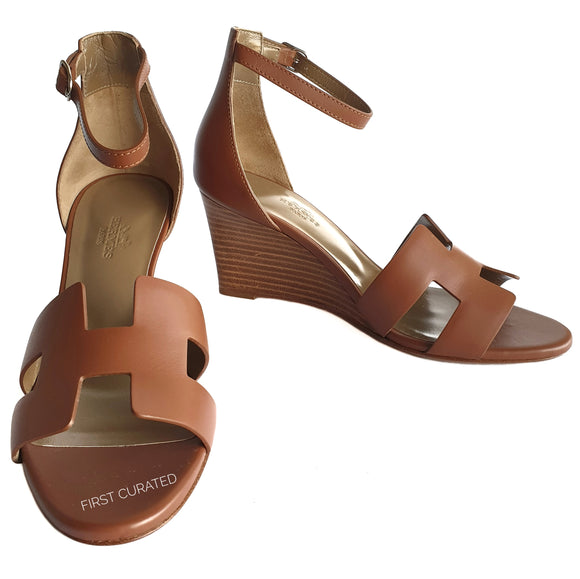 Hermes Legend Sandals, size 36.5