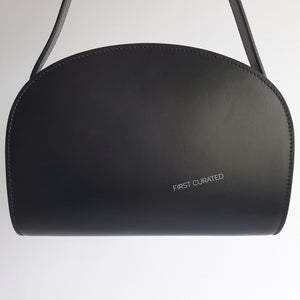 A.P.C. Sac Demi Lune in Dark Navy