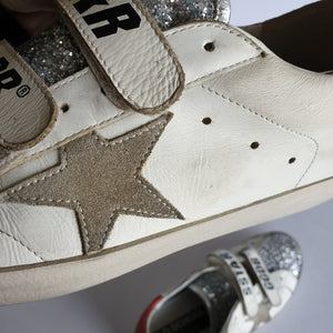 Golden Goose Glitter Sneakers, size 39