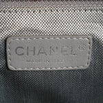 Load image into Gallery viewer, Chanel Black Vertically-Quilted Tote