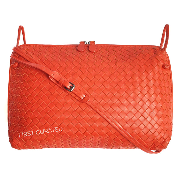Bottega Veneta Red Orange Nodini