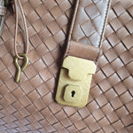 Load image into Gallery viewer, Bottega Veneta Tan Roma Handbag