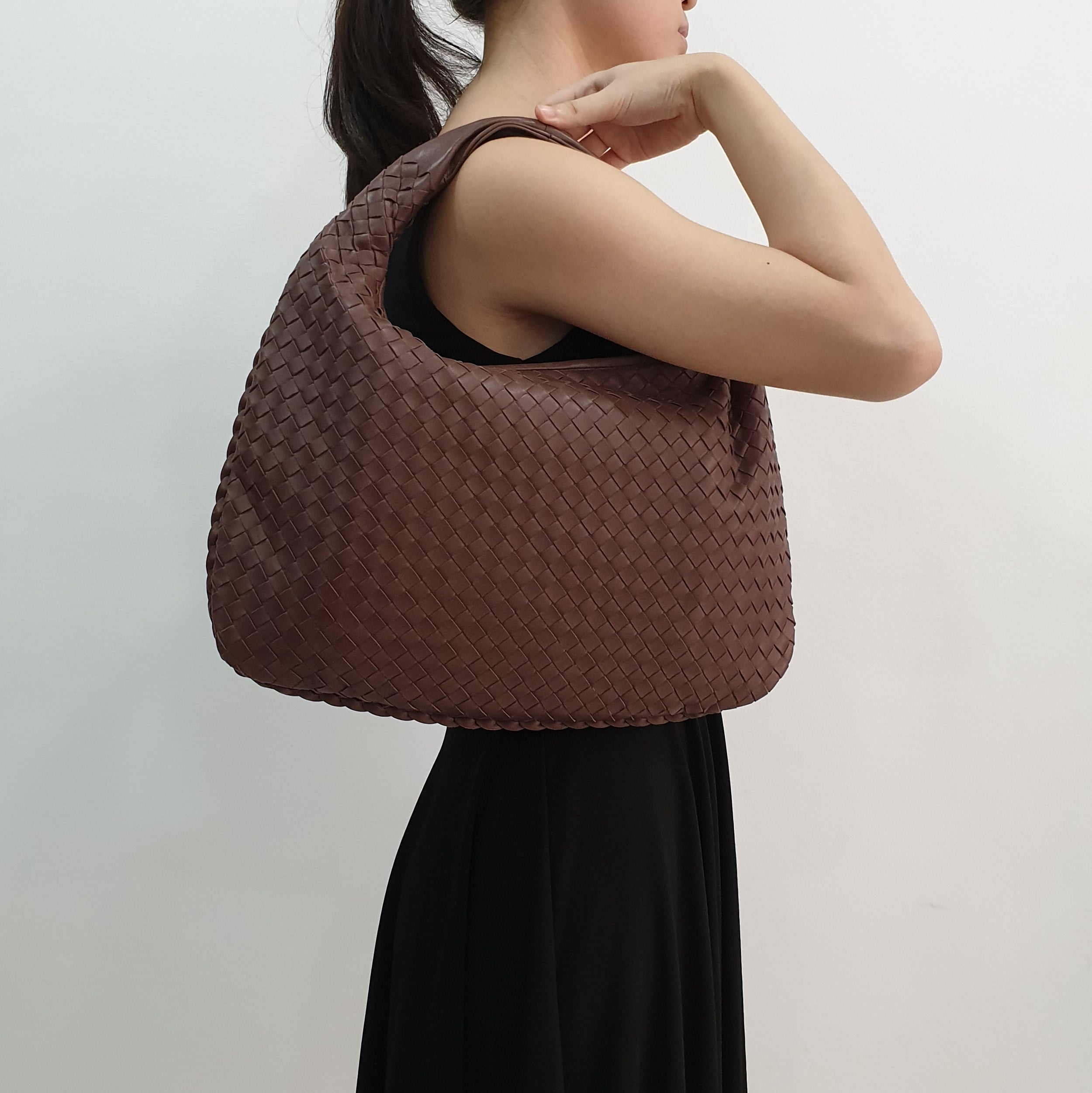 Bottega Veneta Brown Hobo