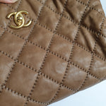 Load image into Gallery viewer, Chanel Tan Shoulder Bag
