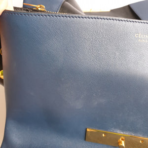 Celine Navy Blue Flap