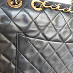 Load image into Gallery viewer, Chanel Black Maxi Jumbo Flap