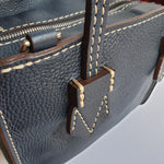Load image into Gallery viewer, Moreau Brégançon Mini Zip Tote Marine