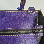 Load image into Gallery viewer, Moreau Brégançon Mini Zip Tote Iris