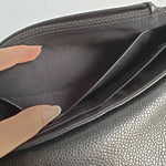 Load image into Gallery viewer, Chanel Black Caviar Half Moon Sling
