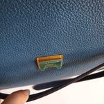 Load image into Gallery viewer, Céline Mini Belt Bag in Sea