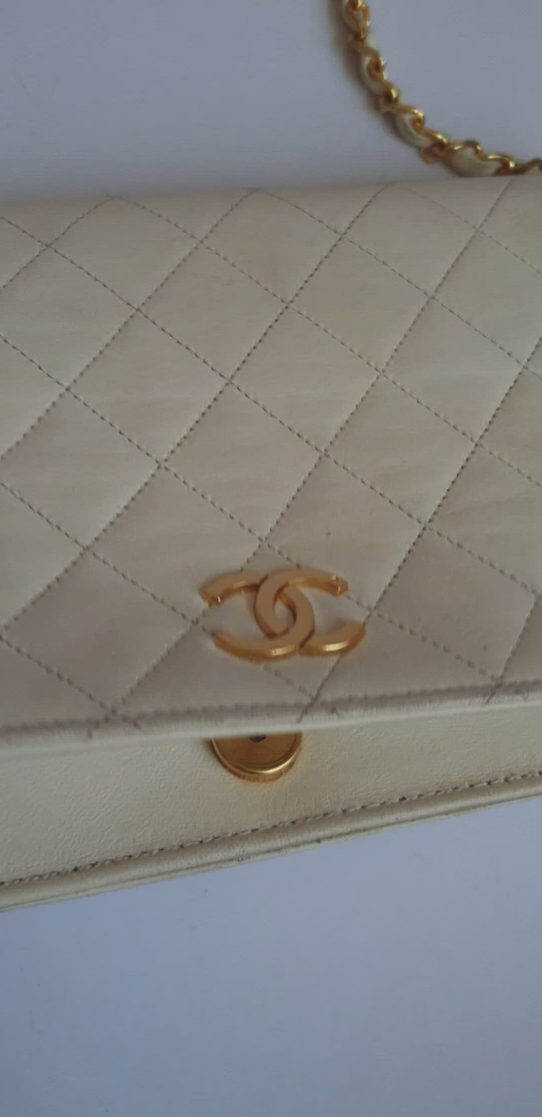 Chanel White Full Flap