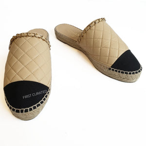 Chanel Slip-on Espadrilles, size 38