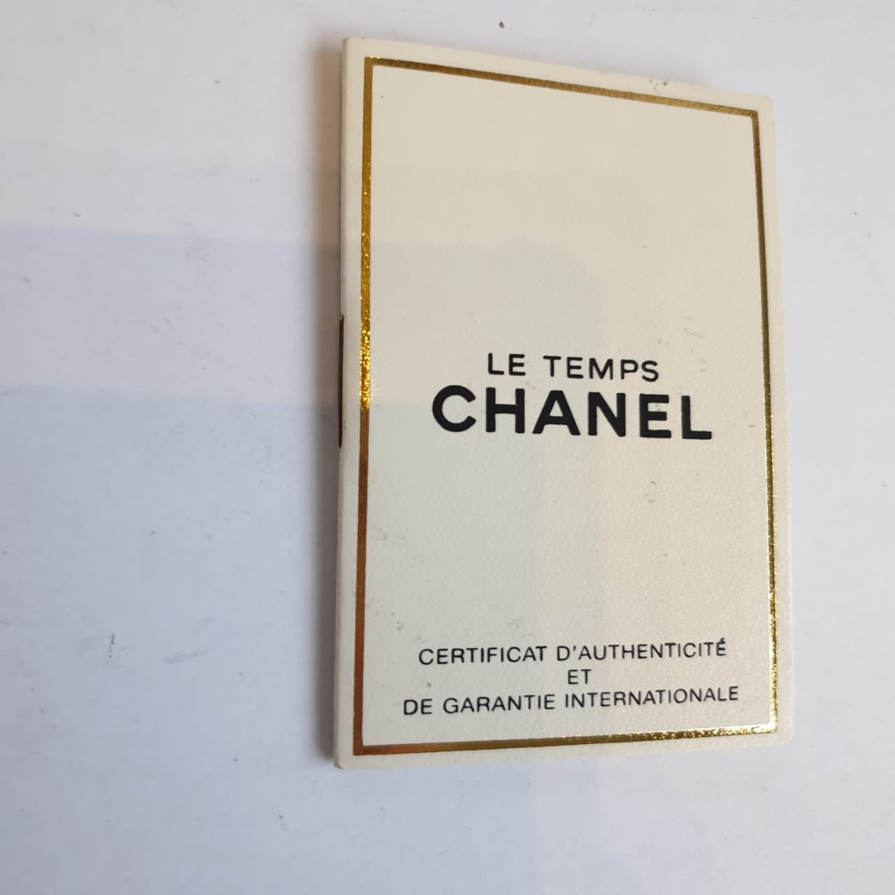 Chanel Chocolate Brown Purse with Gold Strap
