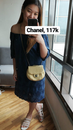 Load image into Gallery viewer, Chanel Chevron Sling