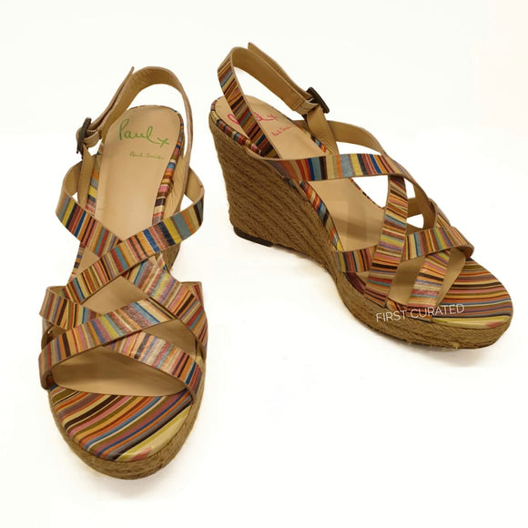 Paul Smith Espadrille Wedges, size 37