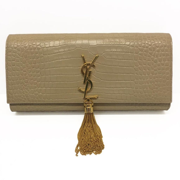 Saint Laurent Tasseled Clutch