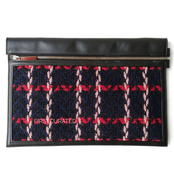 Victoria Beckham Tweed Clutch