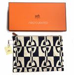 Load image into Gallery viewer, Hermès Chain d'Ancre Printed Pouch