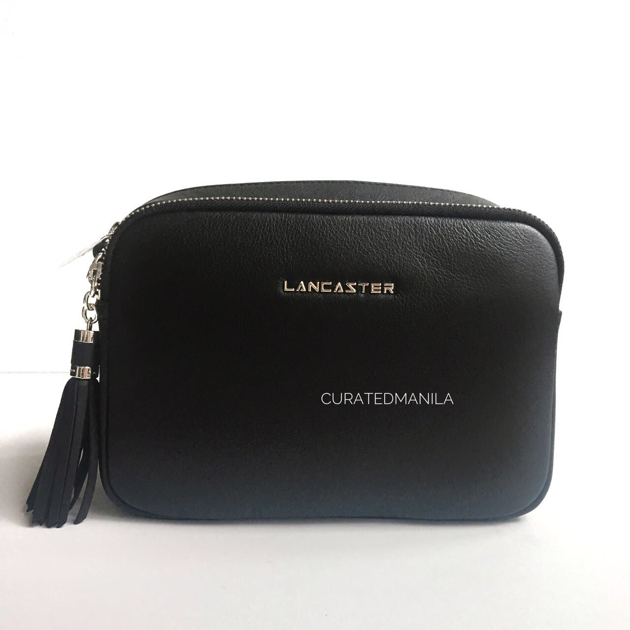Lancaster Small Tassel Leather Shoulder Bag