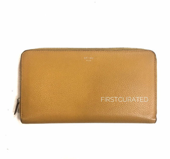 Celine Large Zipped Wallet