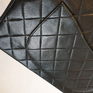 Chanel Black Flap with Reissue Strap