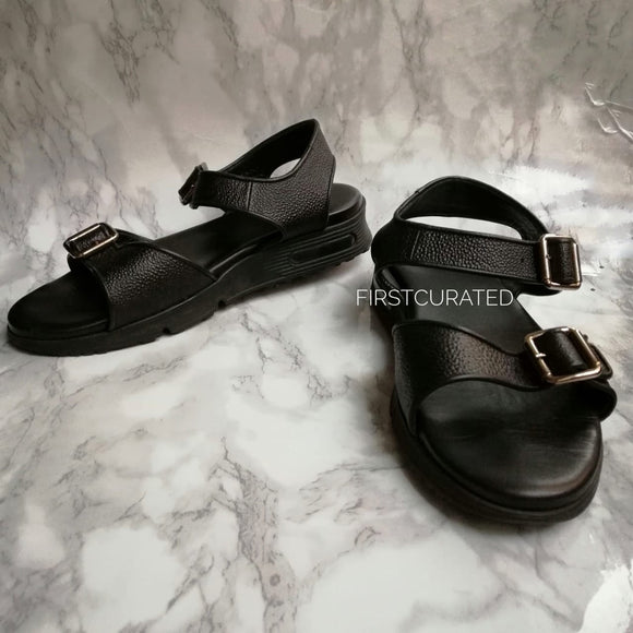 Givenchy Black Sandals, Size 42