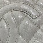 Load image into Gallery viewer, Chanel White Caviar PST Bag