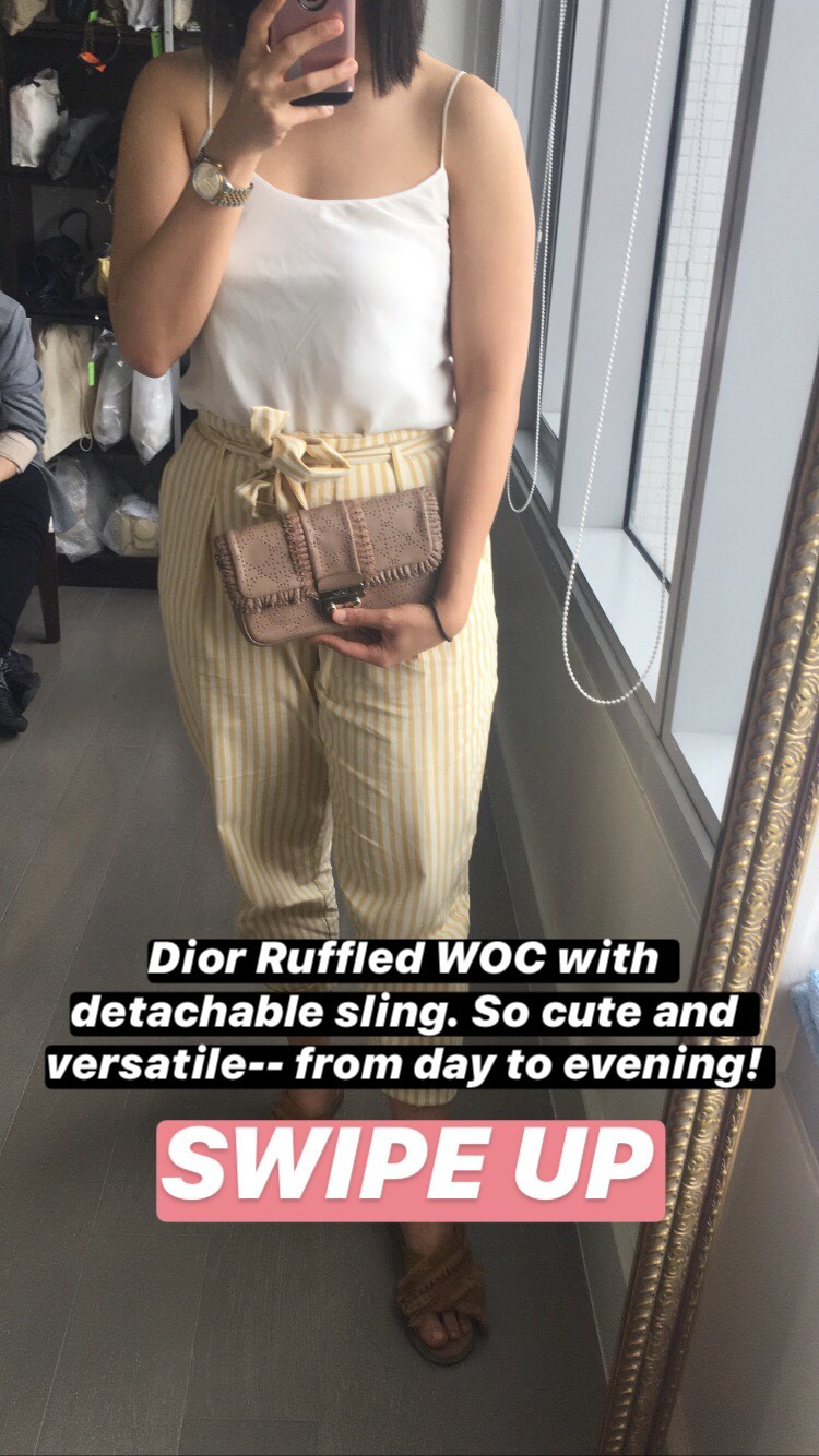 Dior WOC with Detachable Sling