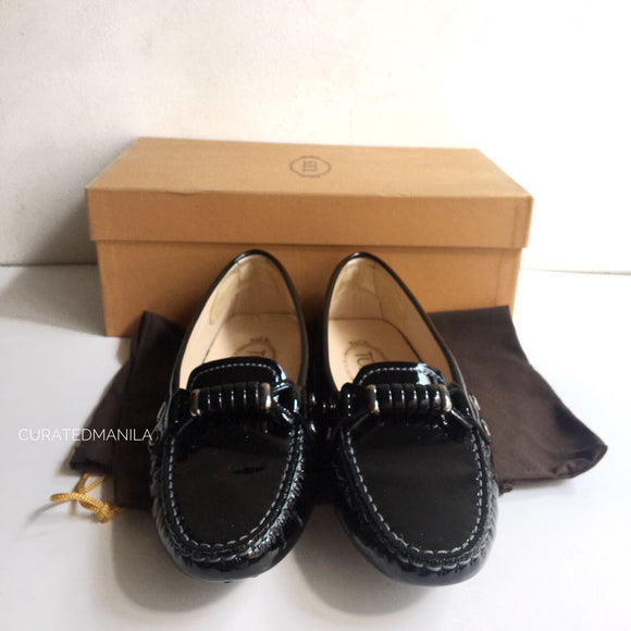 Tod's Black Loafers, Size 36
