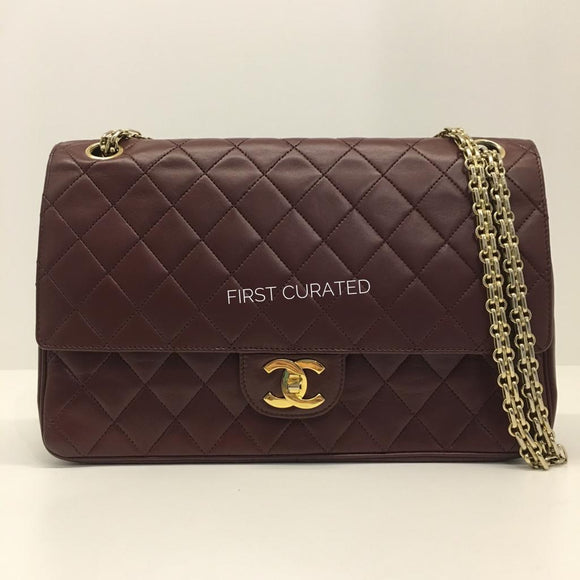 Chanel Bordeaux Flap