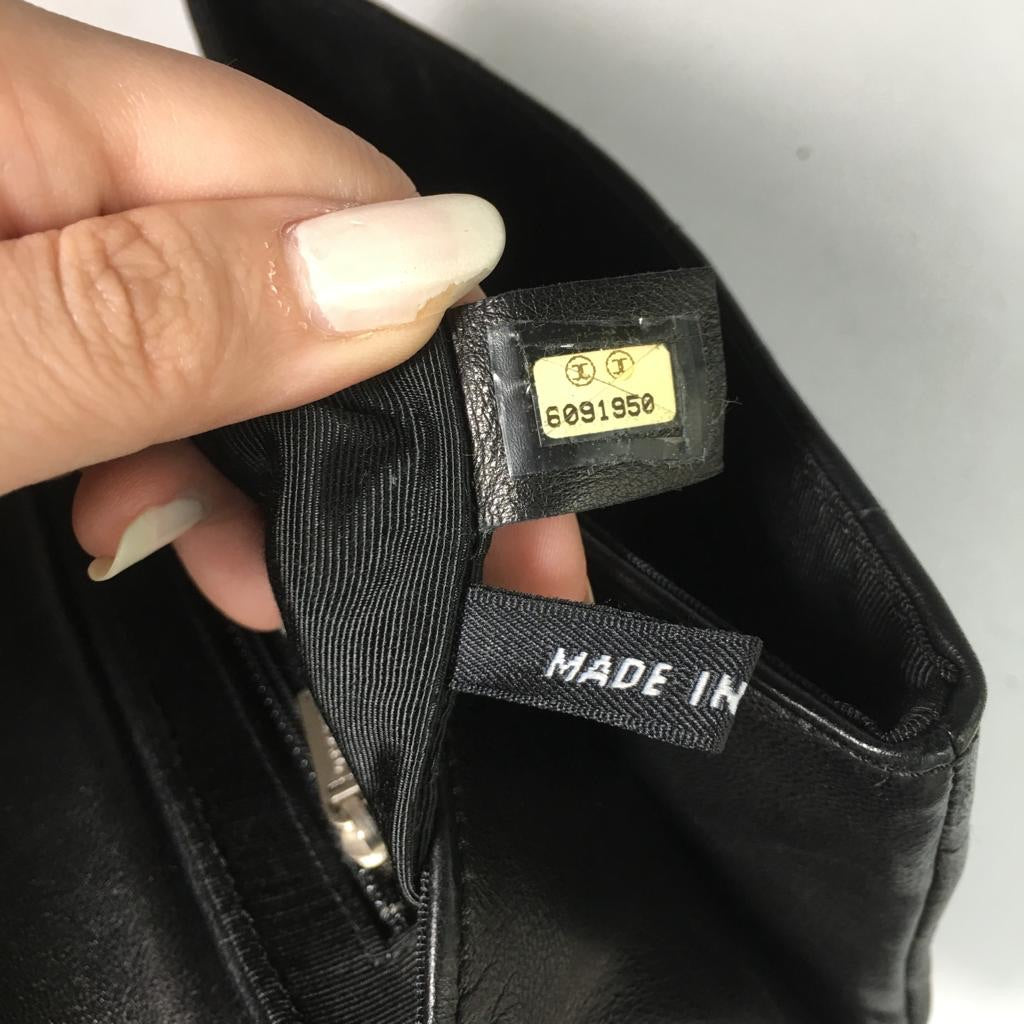 Chanel Black Clutch / Beltbag