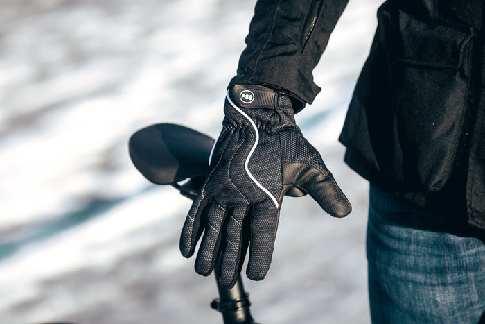 Cycling Gloves, Waterproof Touchscreen Winter Outdoor Bike Gloves