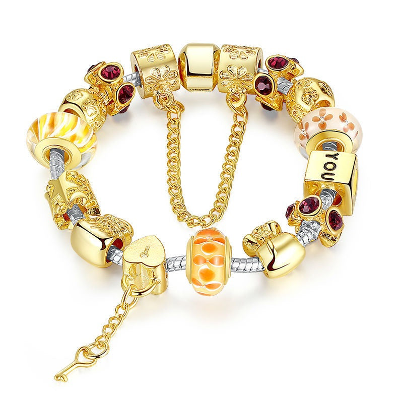 Women's Eye Catching Luxurious and Gorgeous Charm Bracelet