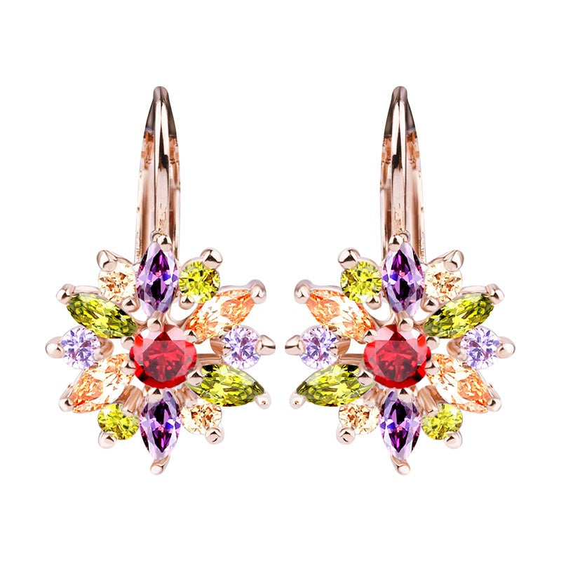 earrings square i small spade colored stud multi mini kate glitter
