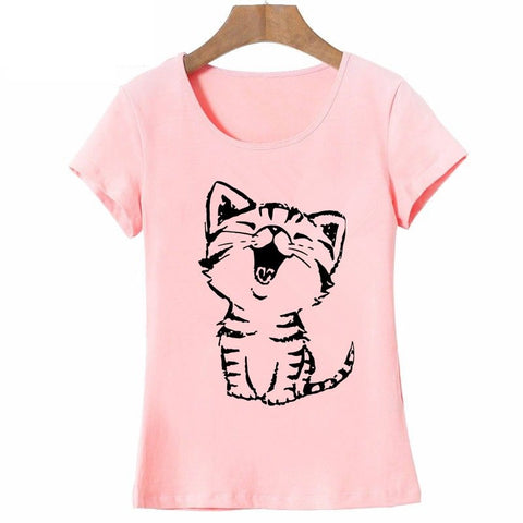 27 Designs of Funny and Cool Short Sleeves 100% Cotton T-Shirts for Girls