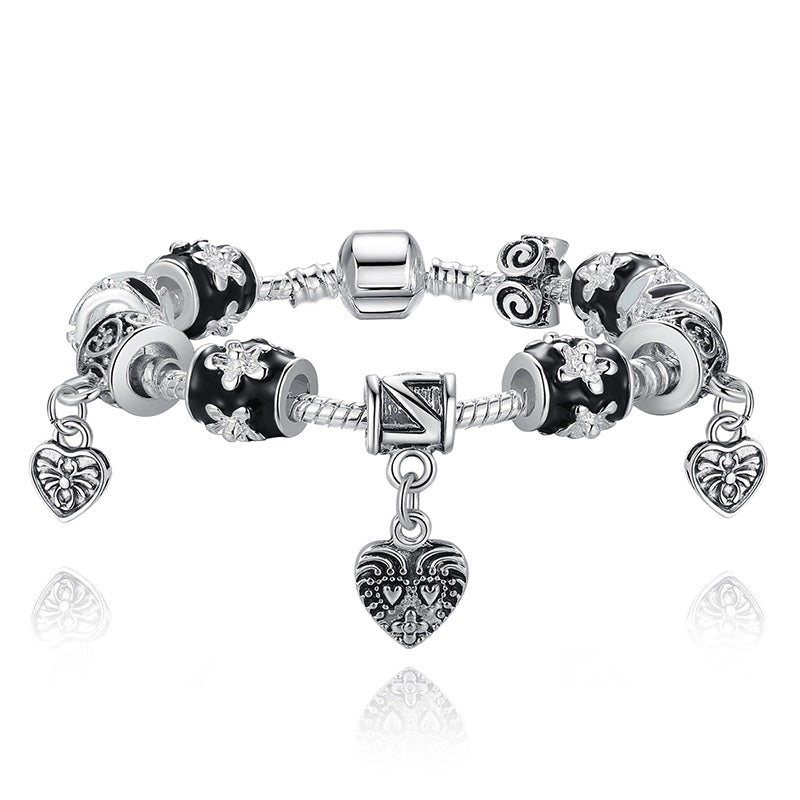 Simply Gorgeous Bracelet for Women with 3 Heart Pendants