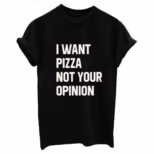 "Women's ""DON'T NEED YOUR OPINION"" T-shirt - 15 Colors and 6 Sizes"